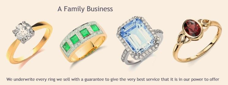 Squires Park Diamond Gold Engagement Wedding Anniversary Rings