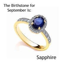 Birthstone Ring for this month